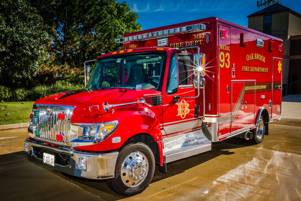 2016 Horton International Type I Medium Duty Ambulance