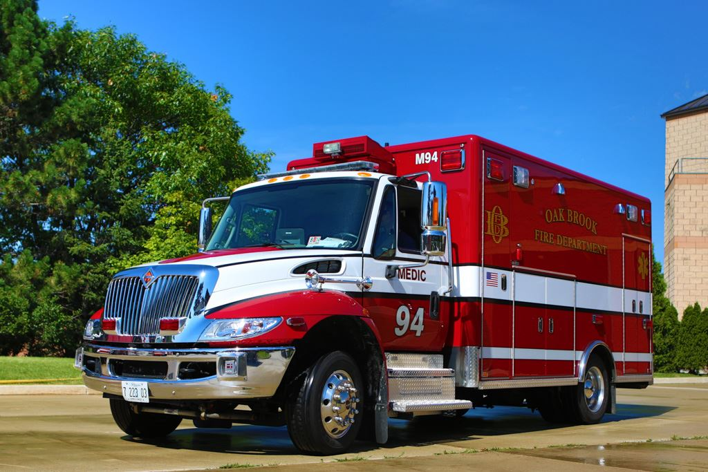 2012 Horton International Type I Medium Duty Ambulance